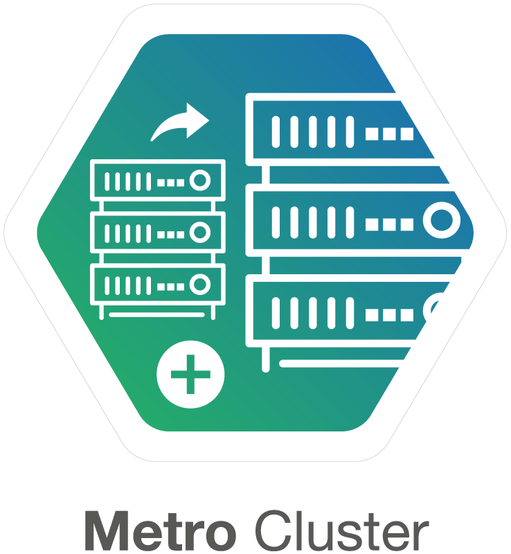 Metro cluster SDS solutions